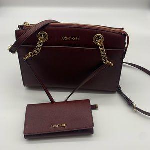 Calvin Klein purse and wallet